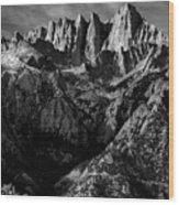 Mount Whitney Wood Print