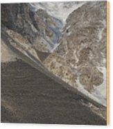 Mountain Abstract Wood Print