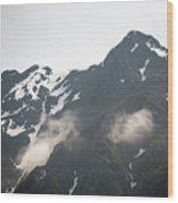 Mountain Alaska A Wood Print
