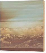 Mountain Classic1 Wood Print