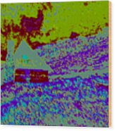 Mountain House D4 Wood Print