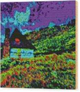 Mountain House D5b Wood Print
