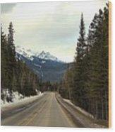 Mountain Journey Wood Print