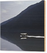 Mountain Lake Landing 2  Wood Print