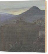 Mountain Landscape In Taormina, Sicily, Italy, Bramine Hubrecht, 1865 - 1913 Wood Print