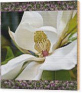 Mountain Magnolia Wood Print by Bell And Todd
