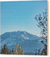Mountain Majestic Wood Print
