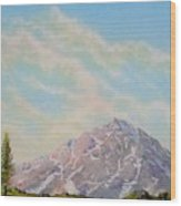 Mountain Majesty Wood Print