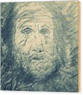 Mountain Man Wood Print