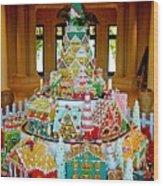 Mountain Of Christmas Cheer Wood Print
