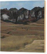 Mountain Plains Wood Print