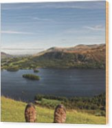 Mountain Relaxation Wood Print