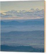 Mountain Scenery 11 Wood Print