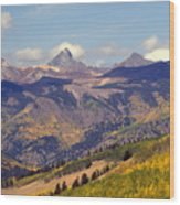 Mountain Splendor 2 Wood Print