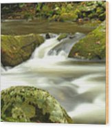 Mountain Stream 3 Wood Print