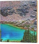 Mountain Tarn Wood Print