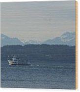 Mountain View Cruise Wood Print