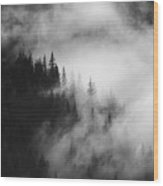 Mountain Whispers Wood Print