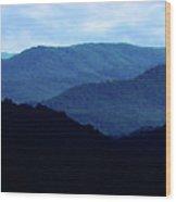 Mountains #27 Wood Print