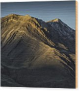 Mountains In Argentina Wood Print