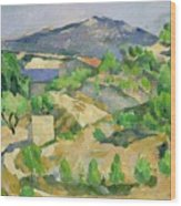 Mountains In Provence Wood Print