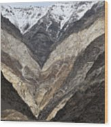 Mountains Of Ladakh Wood Print
