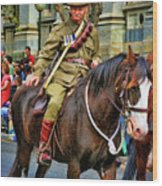 Mounted Infantry 2 Wood Print