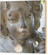 Mourning Angel 2 Wood Print