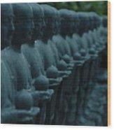 Mourning Row Wood Print