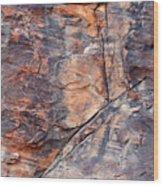 Mouse's Tank Canyon Wall Wood Print