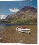 Moutain Lake Wood Print
