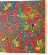Movement Wood Print