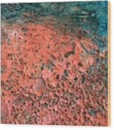Movement Of Color IIi Wood Print