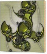 Movement Of Life  Wood Print