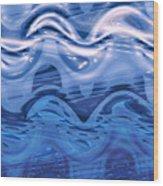 Moveonart Andthespirithoveredoverthewaters Wood Print