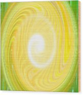 Moveonart Bright Newness 1 Wood Print