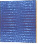 Moveonart Codeblue Wood Print