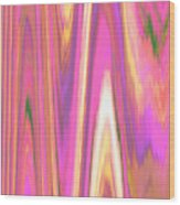 Moveonart Color Mood Waves One Wood Print