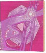 Moveonart Creative Peaceful Creature Seven Wood Print