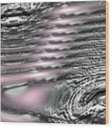 Moveonart Daily Planet Wave 2 Wood Print