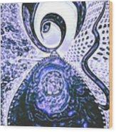 Moveonart Gothic Gertrude 1  Wood Print