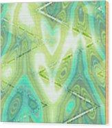 Moveonart Have A Heart Art 4 Wood Print