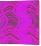 Moveonart Joyful Song Waves Forming  Wood Print