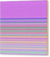 Moveonart Minimal Mood In Color 1 Wood Print