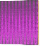 Moveonart Mysterious Violet Curtain Wood Print