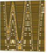 Moveonart New American Indian Architecture 2 1 Wood Print