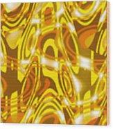 Moveonart New Composition 1 Wood Print