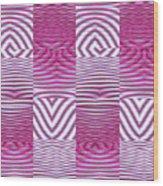 Moveonart New Future Texture 1 Wood Print