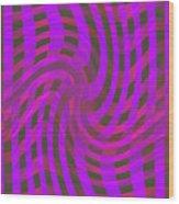 Moveonart Newwavezone Wood Print