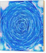 Moveonart Peace Renewal Planet Earth Wood Print
